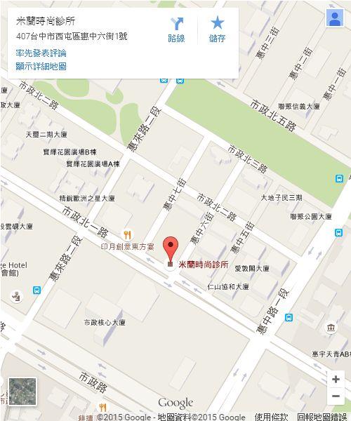 桃園米蘭地圖