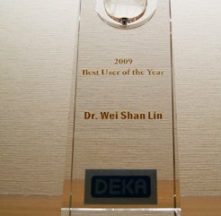 世界性的榮譽 Best user of the Year